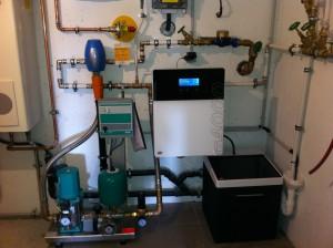 Wasser-Druckerhöhung